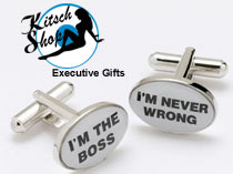 Secret Santa / Boss Cufflinks