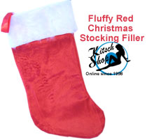 Secret Santa Red Christmas Stocking Filler